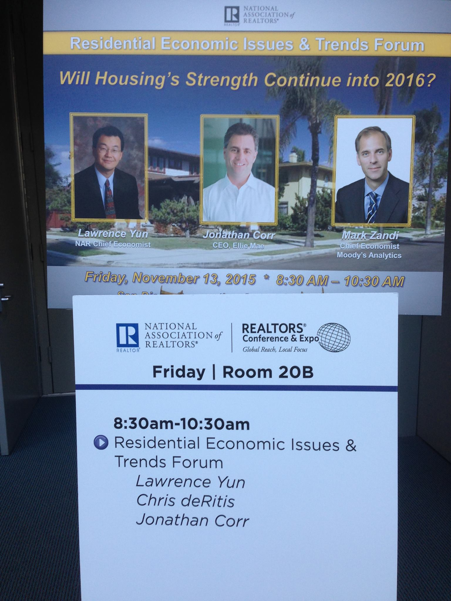economic issues NAR 2015