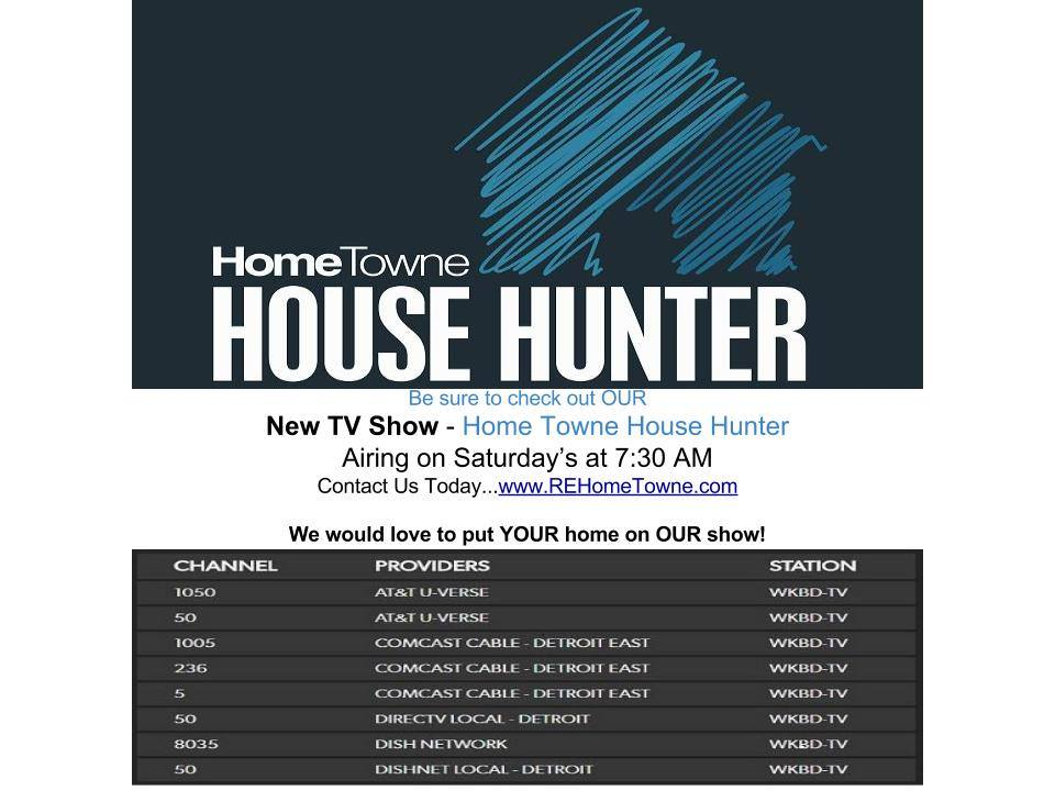 Home Towne Hunter TV Listing