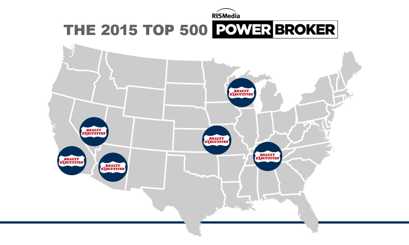 Realty Executives franchises rank in Power Broker list