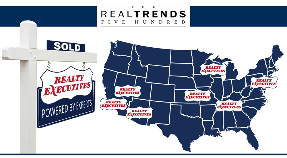 REAL Trends 500 2016 features Realty Executives brokerages