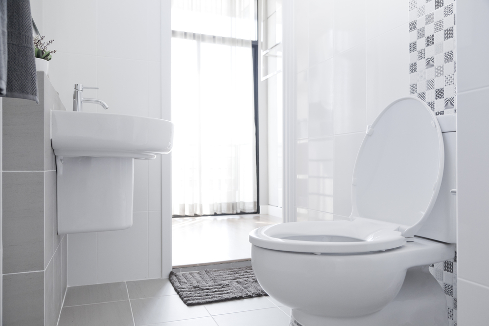 remodeling 101 placing the toilet in your bathroom renovation. Black Bedroom Furniture Sets. Home Design Ideas