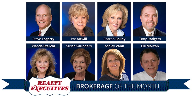 Realty Executives Associates Brokerage of the Month